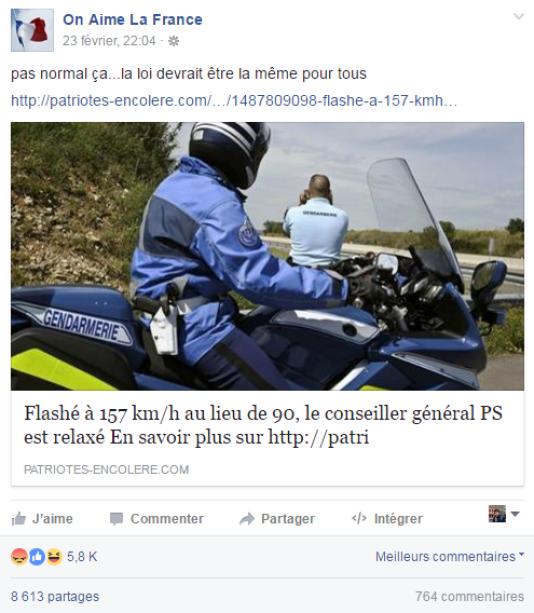 Fausse nouvelle information qui, en réalité, est un copier-coller d'un article de «LaDépêche du Midi», qui date... defévrier 2014.
