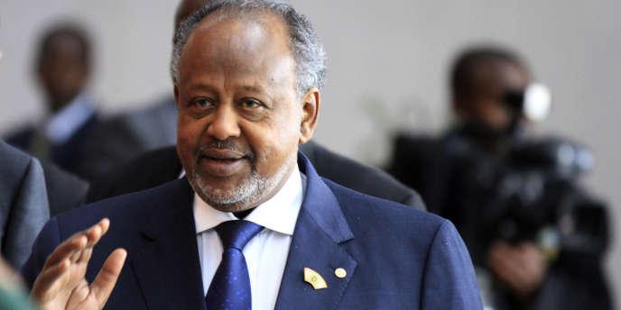 Le président djiboutien Ismaël Omar Guelleh à Addis-Abeba, en octobre 2013.
