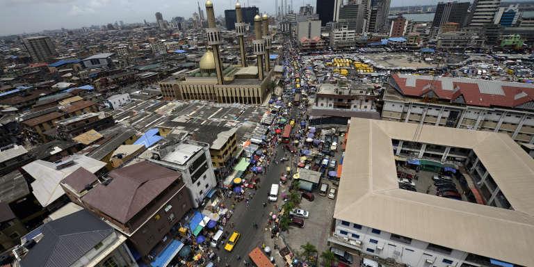 Lagos, gigantesque capitale économique du Nigeria.