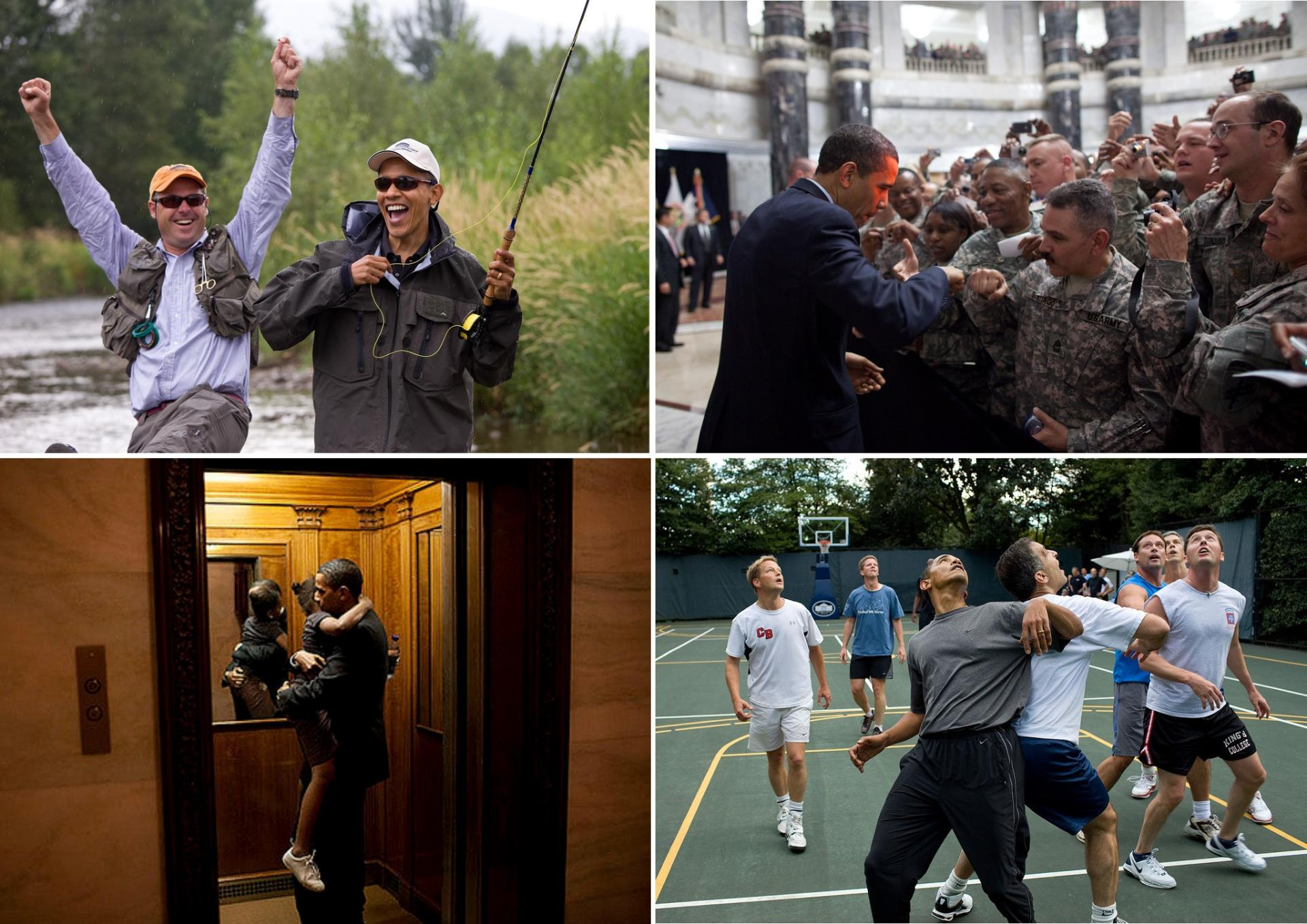 Quelques photographies de Pete Souza montrant Barack Obama comme « un type normal ».