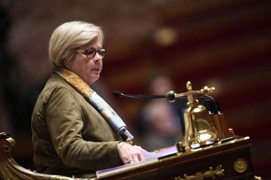 La vice-présidente de l'Assemblée nationale, Catherine Vautrin, le 3 novembre 2015.