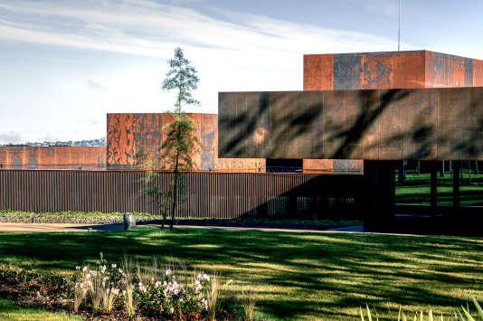 Le Musée Soulages à Rodez, réalisé par l'agence RCR.