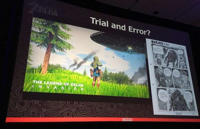Une des pistes envisagées pour«Breath of the Wild », sous le nom de code«The Legend of Zelda : Invasion».