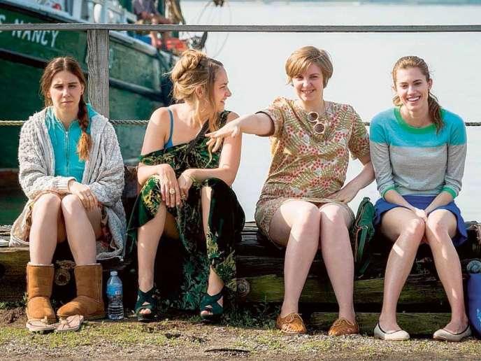 Les quatre«girls» de la série : Marnie, Jessa, Shoshanna et Hannah.