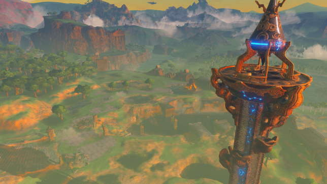 « Breath of the Wild » a des petits airs de « Far Cry : Hyrule Edition », avec sa vingtaine de tours à trouver et escalader.
