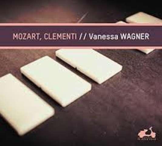Pochette de l'album« Mozart, Clementi», de Vanessa Wagner.