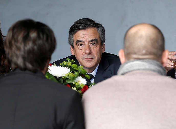 François Fillon, à Nîmes, le 2 mars.