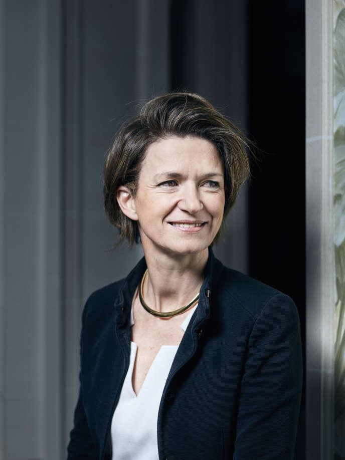 Isabelle Kocher, en avril2016, à Paris.