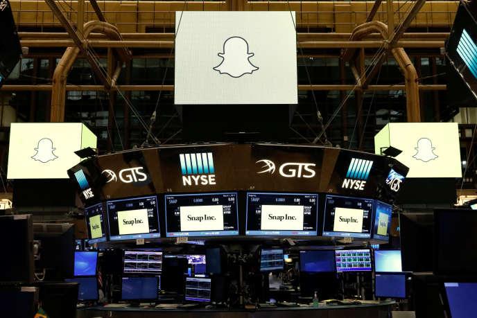 Mercredi 1ermars, à la Bourse de New York.
