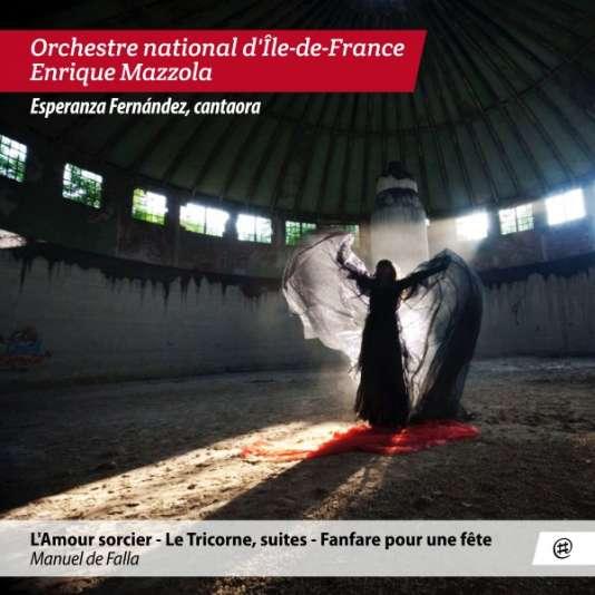 Pochette de l'abum consacré à Manuel de Falla par l'Orchestre national d'Ile-de-France.