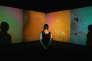 «Liquid Crystal Environment», de Gustav Metzger présenté dans le cadre d'une exposition à la Serpentine Gallery, à Londres, en septembre 2009.