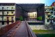 Le théâtre La Lira, à Ripoll (Catalogne), réalisé en 2011 par l'agence RCR en collaboration avec Joan Puigcorbé.
