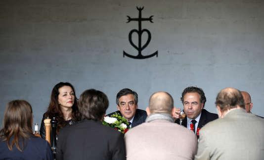 Francois Fillon, le 2 mars 20147, à Nîmes.