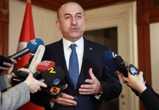 Mevlüt Cavusoglu, le ministre des affaires étrangères turc, le 3 mars 2017.