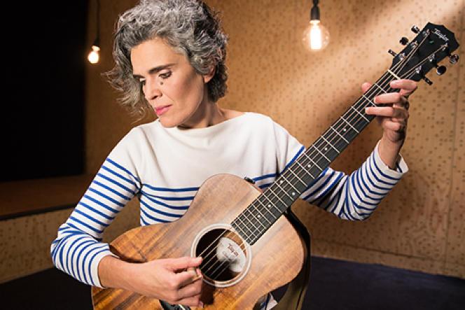 La chanteuse Lula Pena.