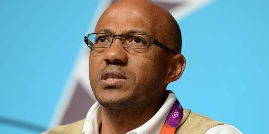 Le Namibien Frank Fredericks en 2012.