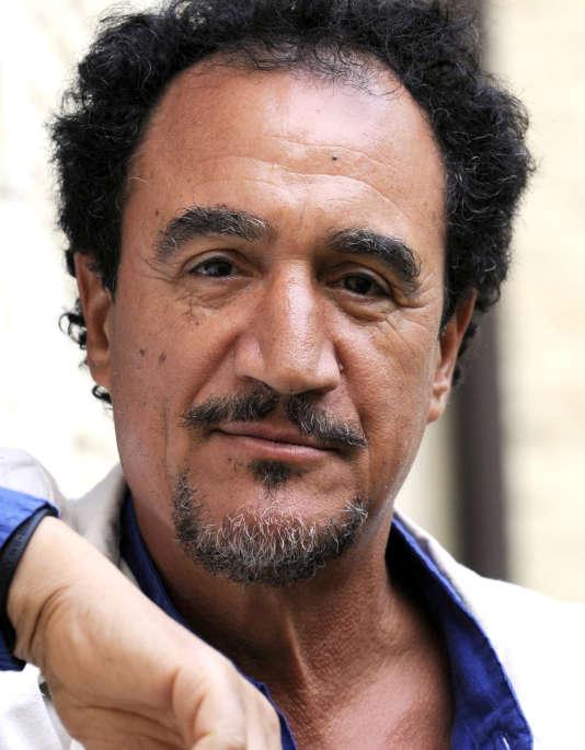 L'acteur et humoriste Mohamed Fellag, le 21 août 2012, à l'Hôtel Gantois de Lille.