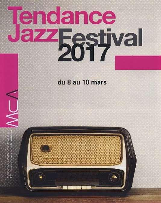 Affiche du festival Tendance jazz à la Maison de la culture d'Amiens.