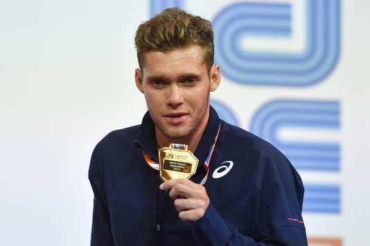 Kevin Mayer a remporté le titre européen en salle de l'heptathlon, dimanche 5 mars à Belgrade.