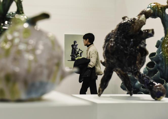 Une vue de la galerie Carl Freedman, à l'Armory Show.