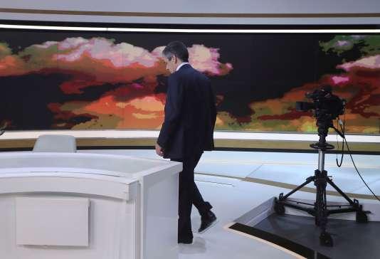 François Fillon, lors de son intervention au journal télévisé de France 2, le 5 mars.