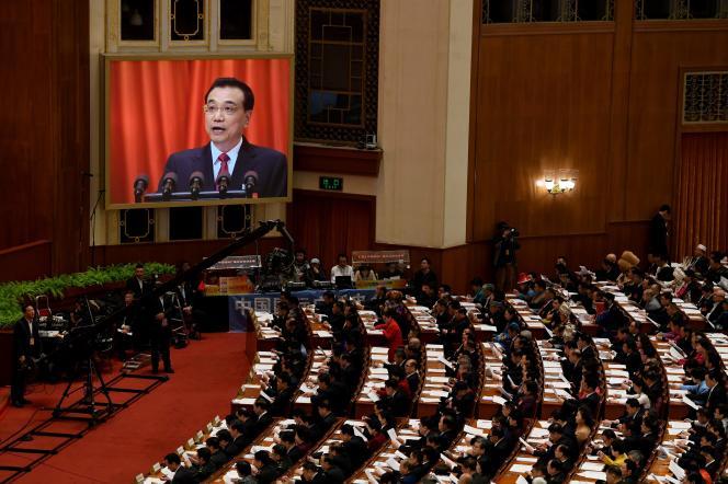 Le discours du premier ministre chinois, Li Keqiang, à l'ouverture de la session annuelle du Parlement.