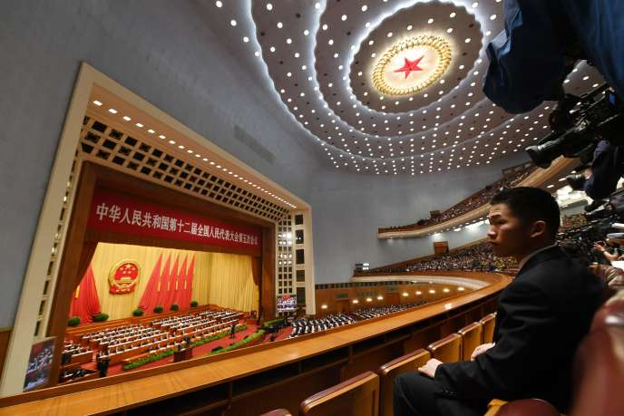 Discours du premier ministre chinois, Li Keqiang, en ouverture du Congrès national du peuple, le 5 mars.