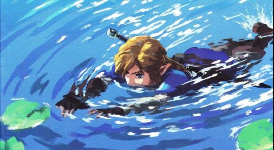 Détail d'une couverture de l'influente revue britannique sur le jeu vidéo «EDGE», qui a accordé 10/10 à «Breath of the Wild».