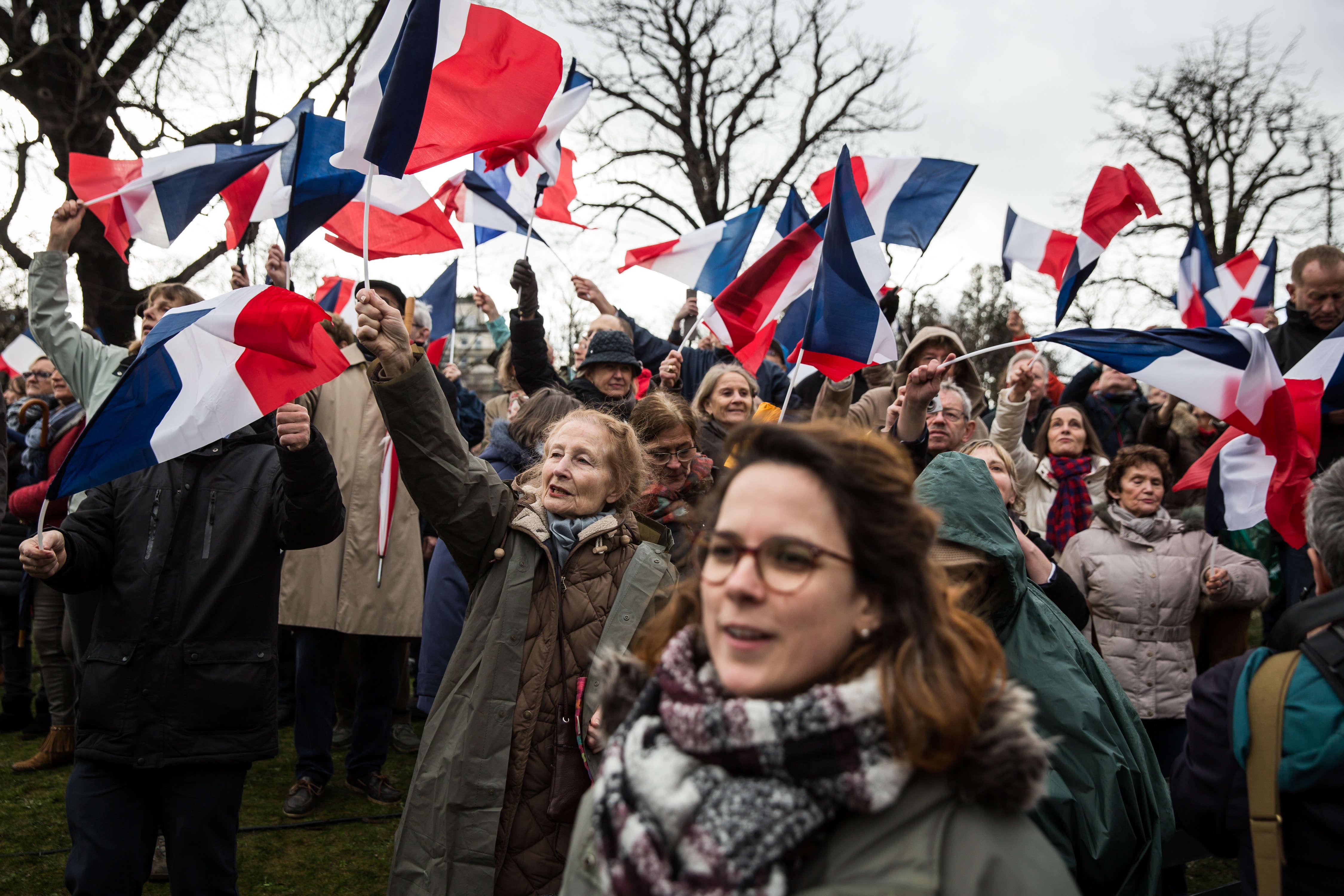 François Fillon a enthousiasmé pendant 30 minutes une foule de sympathisants venus de toute la France.