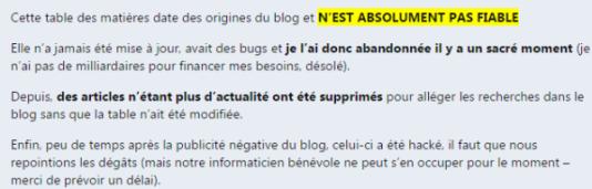 Capture d'écran du site Les-Crises.fr (la page en question a été modifée depuis).