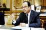 Le président François Hollande au Palais de l'Elysée le 1er mars.