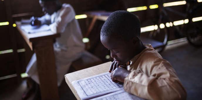 Une école coranique à Beni, en République démocratique du Congo (RDC), en 2016.