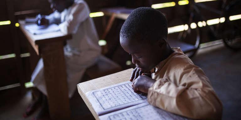 Un jeune élève d'une école coranique de Beni, à l'est de la République démocratique du Congo.