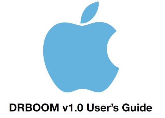 Le logo du manuel d'utilisation de« DRBOOM», publié par WikiLeaks.