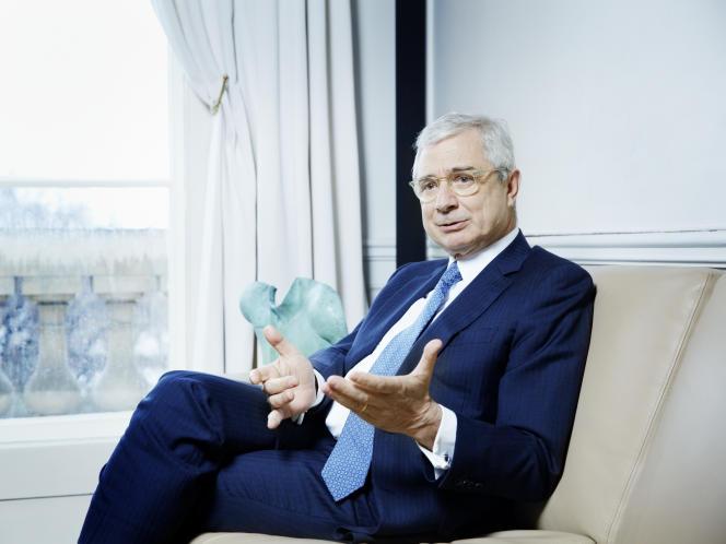 Claude Bartolone à Paris le 6 mars.