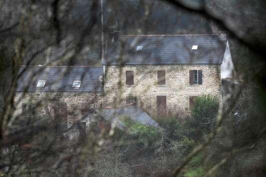La ferme de Lydie C. à Pont-de-Buis, dans le Finistère.