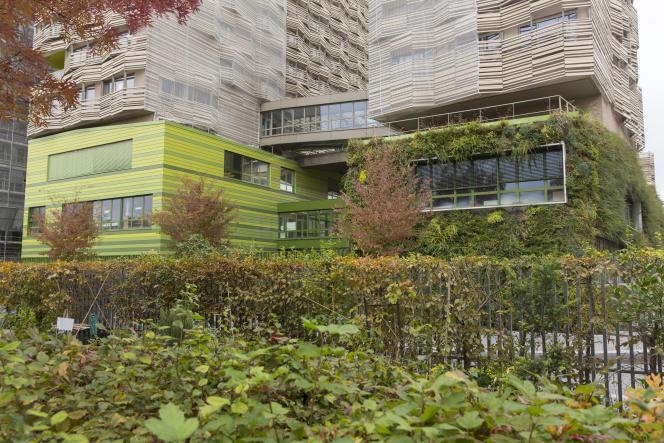 L'éco-quartier de Clichy-Batignolles compte 3400 logements à faible consommation énergétique.