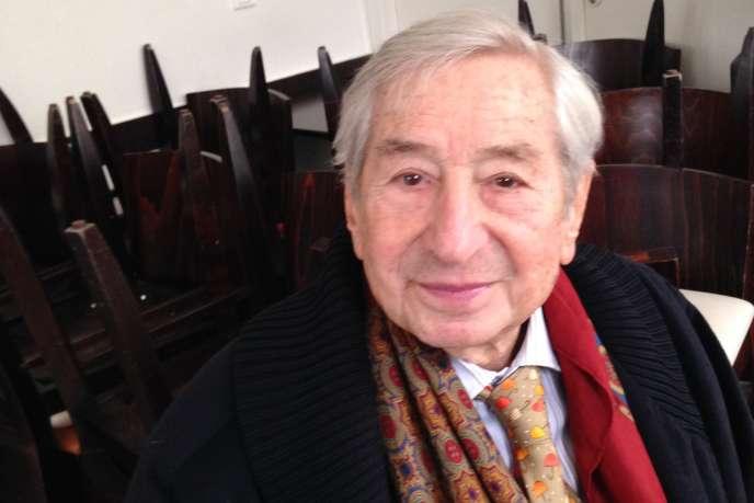 Salomon Resnik, mars 2015.