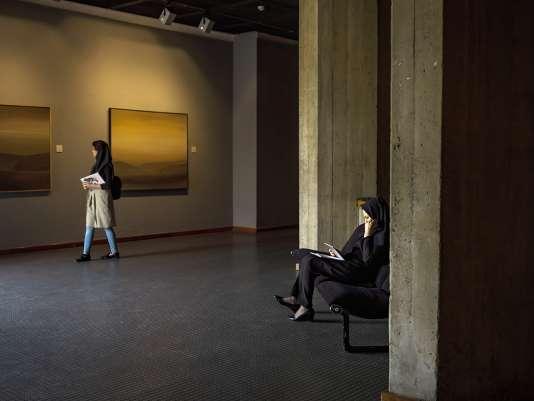 Jusqu'à l'exposition qui a ouvert ses portes le 4 mars, le musée ne montrait quasiment que des œuvres iraniennes.