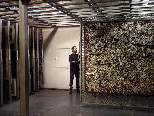 Les joyaux occidentaux de la collection (dontune toile de Jackson Pollock, «Mural on Indian Red Ground») vont pouvoir être vus par les Iraniens.
