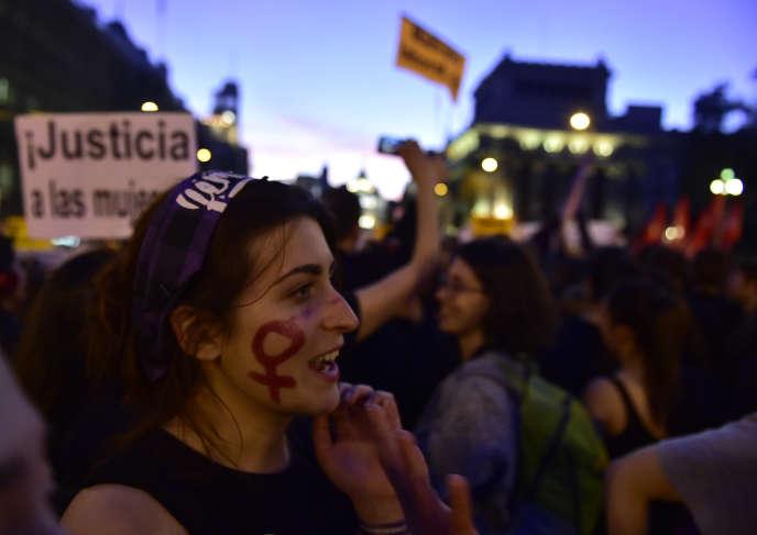 A Madrid, le 8 mars.
