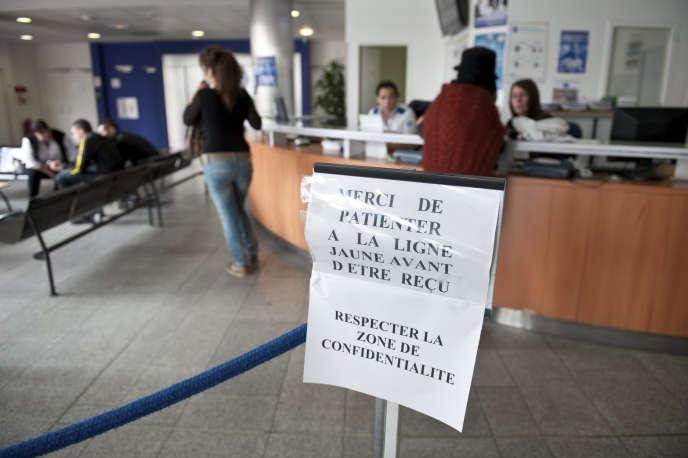 L'accueil du commissariat central de Bordeaux, le 5 juin 2011.