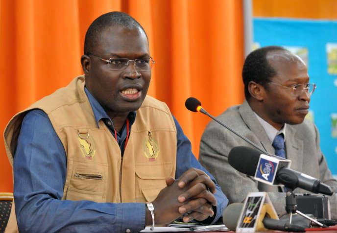 Le maire de Dakar, Khalifa Sall, le 13 mai 2011.