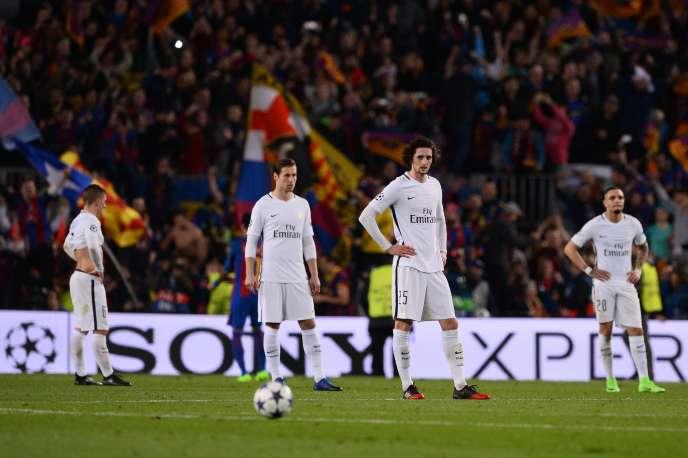 Les coéquipiers d'Adrien Rabiot n'y croient pas, le Barça a remonté quatre buts d'écart pour se qualifier.