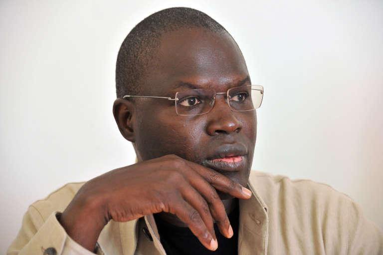Khalifa Sall, maire de Dakar, transféré dans la nuit du 7 mars à la prison de Rebeuss. Ici en mars 2009, alors en campagne pour les municipales, qu'il allait remporter.
