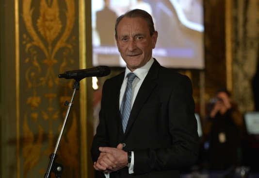 Bertrand Delanoë, le 30 mars 2014, à Paris.