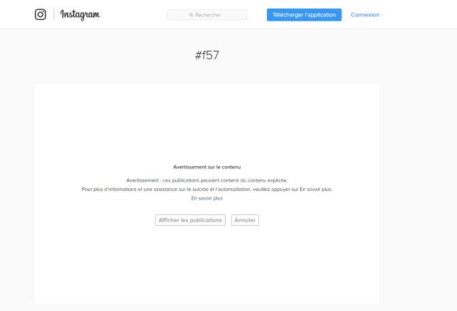 En tapant certains mots-clés, un message automatique s'affiche sur Instagram.