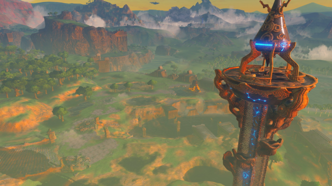 Les tours à la « Assassin's Creed », un des éléments récurrents de « Breath of the Wild ».