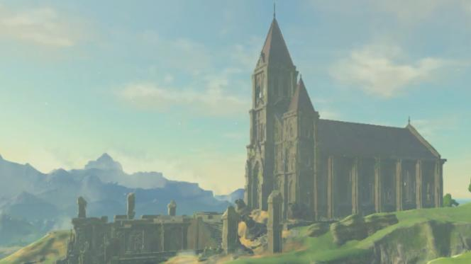 Le temple du Temps, conçu en 1998 et repris dans « Breath of the Wild », s'inspire de monuments comme la basilique de Paray-le-Monial en France.