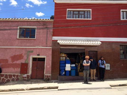 Tommy François en reportage en Bolivie.